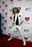 Steven Tyler von Aerosmith auf dem roten Teppich. Lizenzfreie Stockfotografie