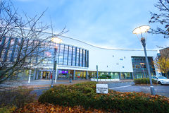 STEVENAGE,UK - NOVEMBER 4, 2016 North Hertfordshire College in the evening Royalty Free Stock Photography