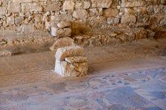 Stevens Church i Umm ar-Rasas Arkivfoto