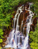 Stevens Creek waterfalls Mt Rainier Royalty Free Stock Image