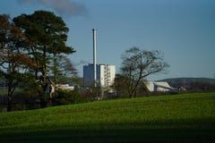 Stevens Croft Power Station fotografia de stock royalty free