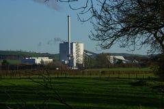Stevens Croft Power Station fotos de stock royalty free
