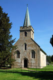 Steventon-Kirchenvertikale Lizenzfreie Stockfotografie