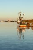 Steveston Harbor Evening, British Columbia Royalty Free Stock Photos