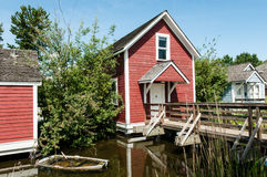 Steveston - Historic Bunk Houses Stock Photography