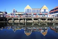 Steveston Historic Fishing Village. Stock Photo