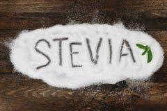 Stevia 04 Fotos de archivo libres de regalías