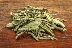 Stevia dried leaves Stock Photo