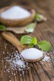 Stevia Granules (selective focus) Stock Images