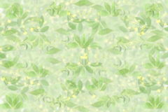 Stevia and other plant bluer background with text space for healthy natural food concept. For food health garden related blog art banner web design background royalty free stock image