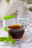 Stevia Products. Natural Sweetener. Stock Images