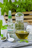 Stevia produkty naturalne słodzik zdjęcia royalty free