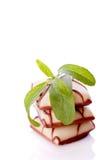 Stevia  for white chocolate Stock Photos