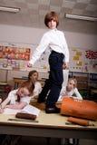 Stevig in het klaslokaal Stock Fotografie