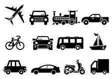 Stevig pictogrammenvervoer stock illustratie
