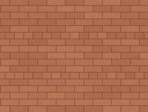 Stevige bakstenen muur Royalty-vrije Stock Fotografie