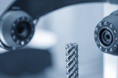 Stevige het eind-molen hulpmiddel voor CNC machine Stock Foto's