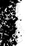 Stevige inkt splat grens royalty-vrije illustratie