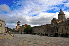 Stevitskhoveli monastery, the heritage of Mtskheta Royalty Free Stock Photography