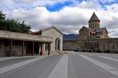 Stevitskhoveli monastery in Mtskheta old town Royalty Free Stock Images