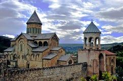Stevitskhoveli monastery in Mtskheta town, Georgia Royalty Free Stock Photo