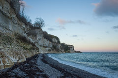 Stevns Klint Danemark Photo stock