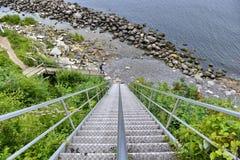 Stevns Klint Dinamarca foto de archivo