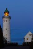 Stevns-Leuchtturm Stockfotos