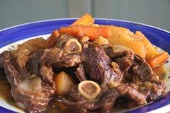 stew αρνιών στοκ φωτογραφία