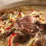 stew βόειου κρέατος Στοκ φωτογραφία με δικαίωμα ελεύθερης χρήσης