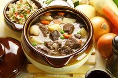 stew βόειου κρέατος Στοκ Φωτογραφίες