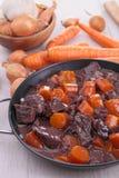 Stew βόειου κρέατος bourguignon στοκ φωτογραφίες με δικαίωμα ελεύθερης χρήσης