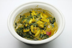 Stew καβουριών, εμβύθιση στάρπης Crap, σιγοβράζει το καβούρι τσίλι, ταϊλανδικά τρόφιμα στοκ φωτογραφία