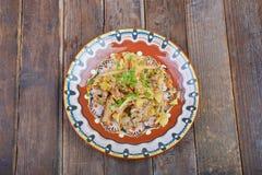 Stew κρέατος με τα λαχανικά Στοκ Εικόνες