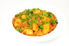 stew πατατών χορτοφάγος Στοκ Εικόνες