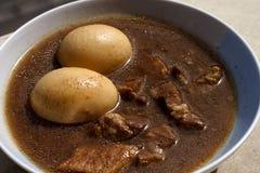 stew χοιρινού κρέατος αυγών Στοκ εικόνα με δικαίωμα ελεύθερης χρήσης