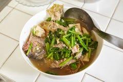 Stew ψαριών Στοκ Εικόνες