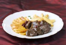stew мяса вареников Стоковое Фото