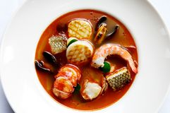 stew продуктов моря Стоковые Изображения