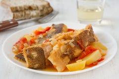 stew рыб Стоковая Фотография RF
