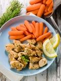 stew цыпленка морковей Стоковые Фото