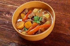 Ιρλανδικό stew με το τρυφερό κρέας αρνιών Στοκ Φωτογραφία