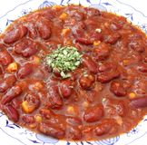 Stew of beans Stock Photo
