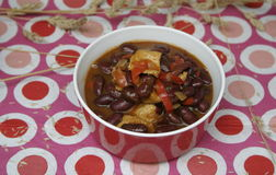 Stew of beans Royalty Free Stock Images