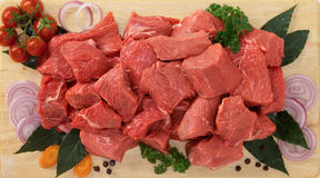 Stew beef Royalty Free Stock Image