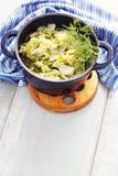 Stew cabbage Stock Photo