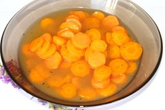 Stew of carrots Stock Photography