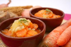 Stew of carrots Royalty Free Stock Images