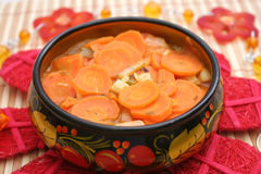 Stew of carrots Royalty Free Stock Image