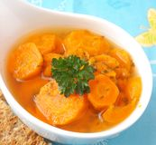 Stew of carrots Royalty Free Stock Photo